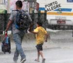 Foto de chuva: Carla Santos Assessoria Digital