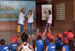 Simers promove a peça Todos contra o Aedes