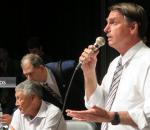 Jair Bolsonaro discursa na Assembleia Legislativa de Porto Alegre. Foto de João Mattos