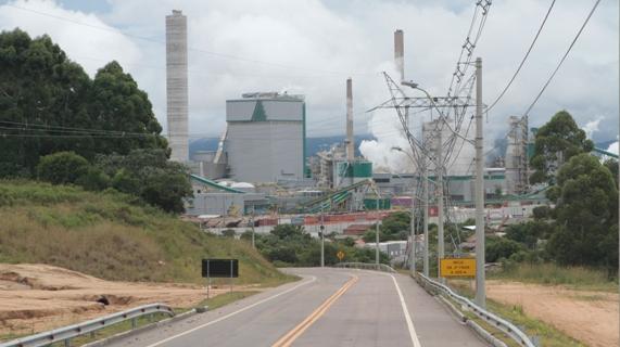 Celulose Riograndense apresenta acesso privado à BR 116