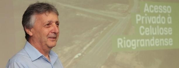 Walter Lídio Nunes apresenta o acesso á Celulose Riograndense