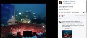 Deputado federal Sibá Machado publica foto da Coreia dizendo que é em Curitiba