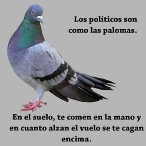 cartaz de políticos na Espanha
