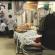 Imagens de pacientes na sala de emergência do Postão da Vila Cruzeiro