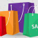 Sacolas de compras coloridas
