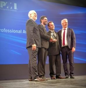 representantes da celulose riograndense recebem prêmio