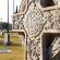 Diversas lápides no cemitério