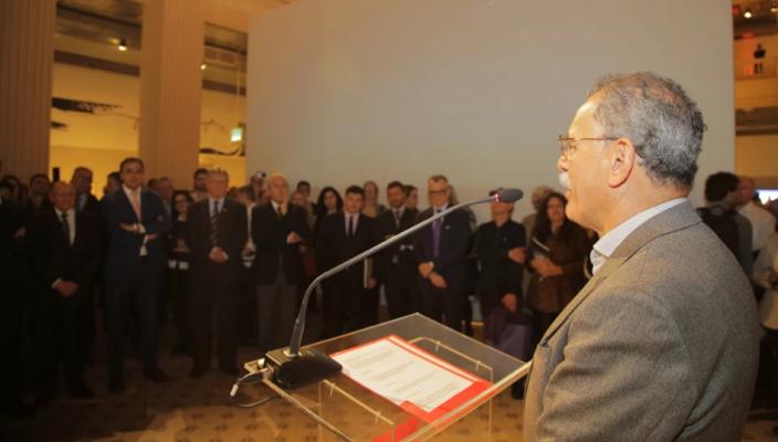 Fernando Albrecht fala do lançamento da exposição Simões Lopes Neto – Onde não chega o olhar prossegue o pensamento