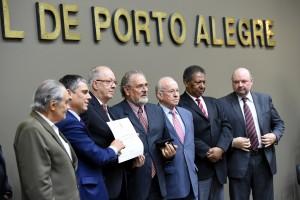 Outorga do Título de Cidadão de Porto Alegre ao senhor Dietmar Fernando Albretch.