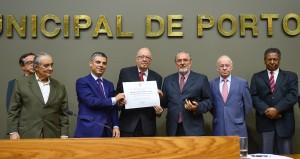 Outorga do Título de Cidadão de Porto Alegre ao senhor Dietmar Fernando Albretch