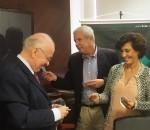 Durante a primeira visita da poderosa presidente do BNDES, Maria Silvia Bastos Marques, huve sintonia total com o presidente do BRDE, Odacir Klein