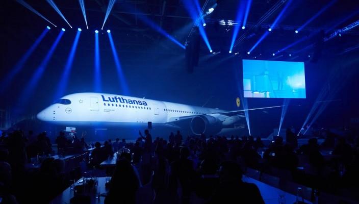 novo avião da luftansa