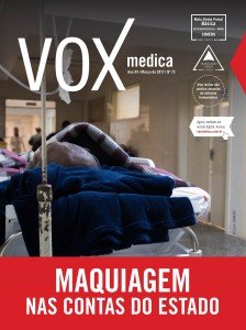 capa da revista Vox Medica do Simers