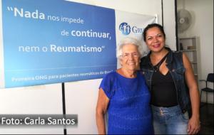 Fernando Albrecht divulga atividades do grupal que mantem em movimento pacientes reumáticos