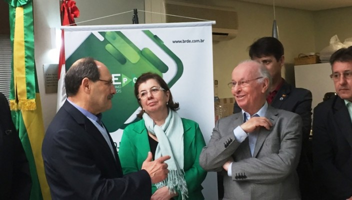 governador e primeira-dama foto de Mauro L. Moraes