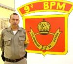 Comandante do 9º BPM tenente coronel eduardo amorim em foto de JOão Mattos Fotografia
