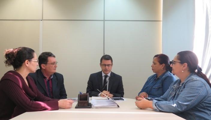 reunião do grupo Reage pela Vida (Vizinhnaça na Calçada) com o secretário adjunto da segurança Oltramari