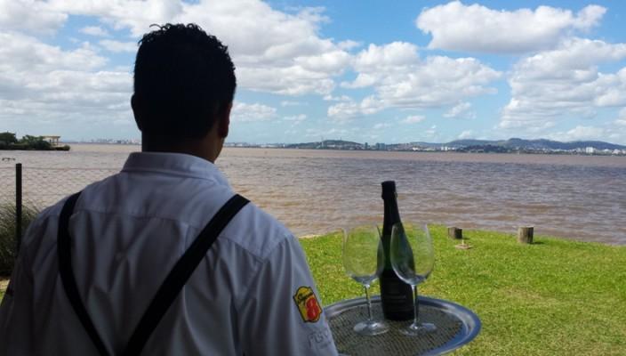 porto alegre vista de Guaíba