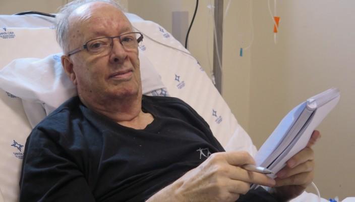 Fernando Albrecht hospitalizado no São Francisco