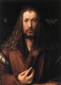 Self-Portrait-DURER-in-a-Fur-Collared-Robe