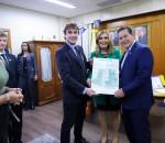 (Porto Alegre - RS, 14/06/2019) Vice-Presidente da República, Hamilton Mourão em durante Solenidade de Concessão do Título de Cidadão Portalegrense.  Foto: Romério Cunha/VPR.