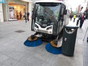 dublinj lavador de calçadas