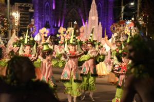 desfile mágivo de natal