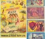álbum de figurinhas das balas Ruth