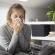 mulher doente faz parte do pico do coronavírus
