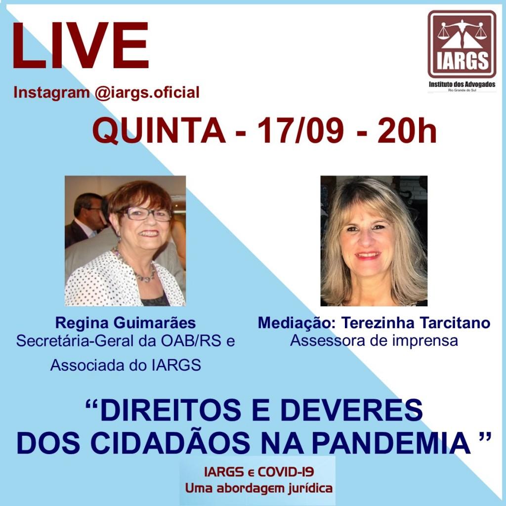 Live Regina Guimarães